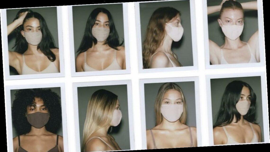 Kim Kardashian's SKIMS Face Masks Are Back in Stock!