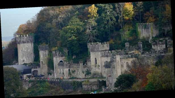 I'm A Celebrity castle in Wales 'overlooks beach hot spot for randy doggers'