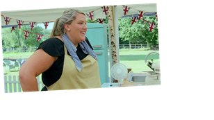 GBBO viewers concerned as baker Laura drops F-bomb in epic show meltdown