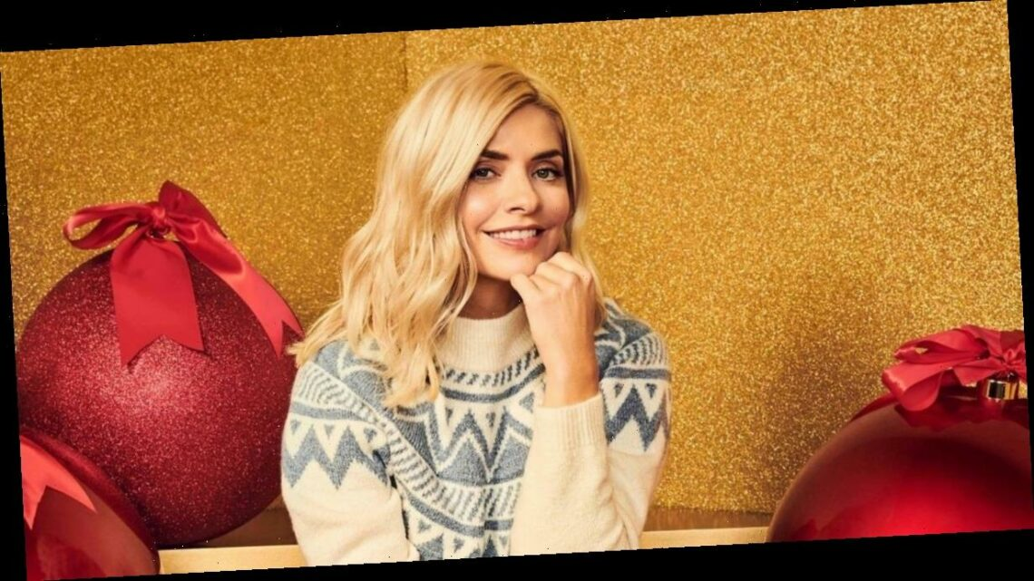Get Christmas jumper ready with the likes of Holly Willoughby, Maura Higgins and Victoria Beckham – prices start from £12