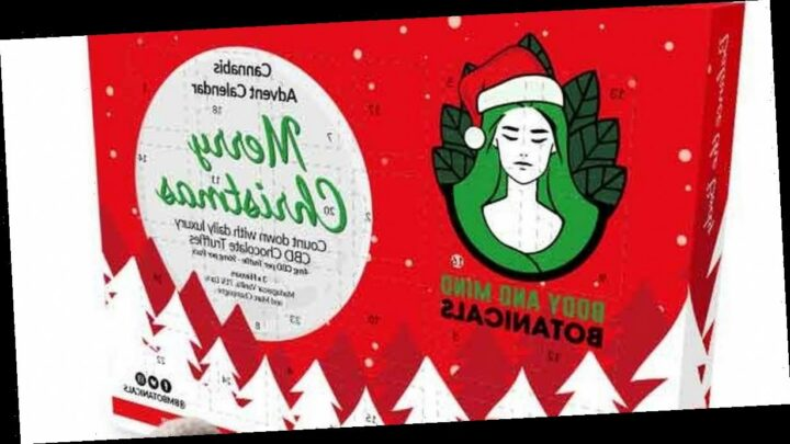 UK's first cannabis-infused chocolate advent calendar features 24 tasty truffles
