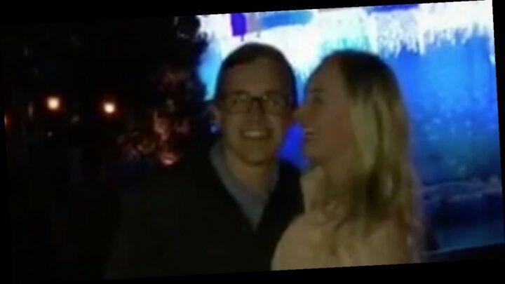 Man's Disneyland marriage proposal hilariously backfires as girlfriend slaps him