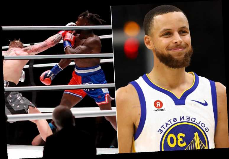 Steph Curry pokes fun at Nate Robinson's knockout as Twitter goes wild