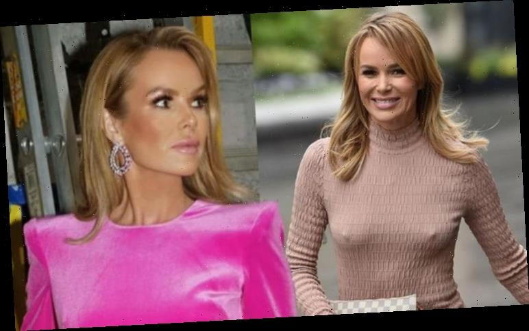 Amanda Holden baffles fans with sizzling photoshoot in her garage 'Get rid of the ladders'