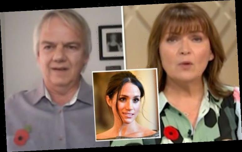 Lorraine slaps down Meghan Markle biographer over claims royal wasn't embraced 'She was!'