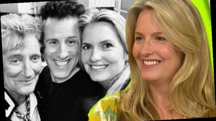 Rod Stewart's wife Penny Lancaster supports Anton Du Beke in new move 'You'll be great'
