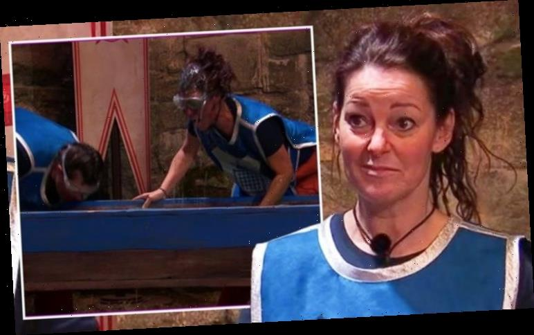 Ruthie Henshall accused of 'cheating' during I'm A Celeb live trial 'Used her hand!'