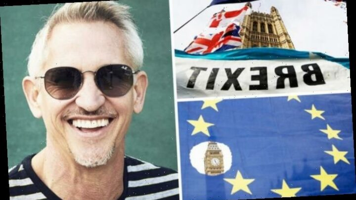 Gary Lineker confessed Brexit could be 'positive for nurturing football talent in UK'