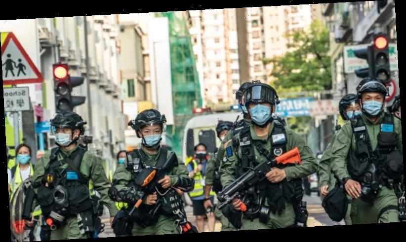 US slaps sanctions on four Chinese officials over Hong Kong crackdown