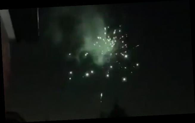 US News network declares 'fireworks over London' to toast Biden's win