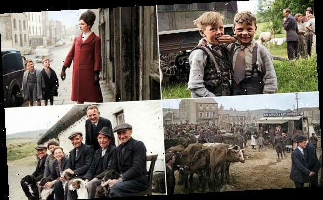 Old Ireland in colour: Fascinating photos of 19th and 20th centuries