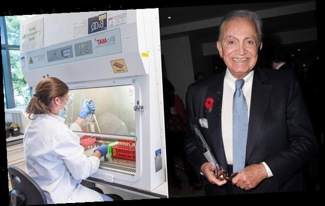 SEBASTIAN SHAKESPEARE: Billionaire Wafic Said's £3.3m shot in the arm