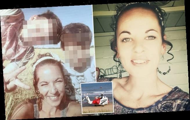 Mother-of-two, 37, drowned trying to save her son and his friend