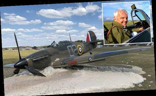 Restored Battle of Britain Hurricane fighter crashes again