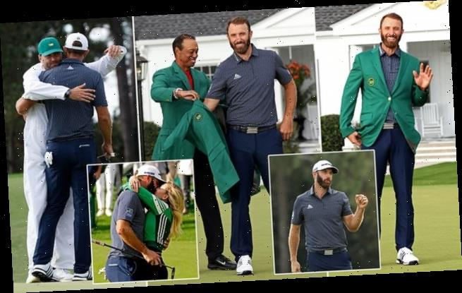 Dustin Johnson storms to record-breaking Masters victory