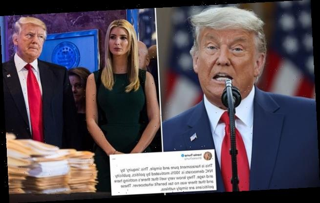 Probes into Trump taxes include write-offs on Ivanka's consulting fees