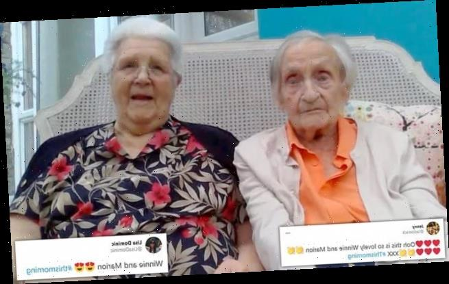 This Morning viewers go crazy for women re-united after 73 years