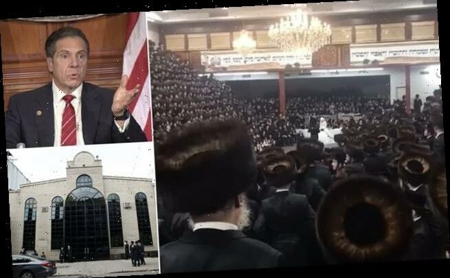 Brooklyn synagogue defies Cuomo for 7K-person maskless wedding