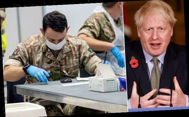 Boris Johnson set to unveil £7billion Covid-19 screening revolution