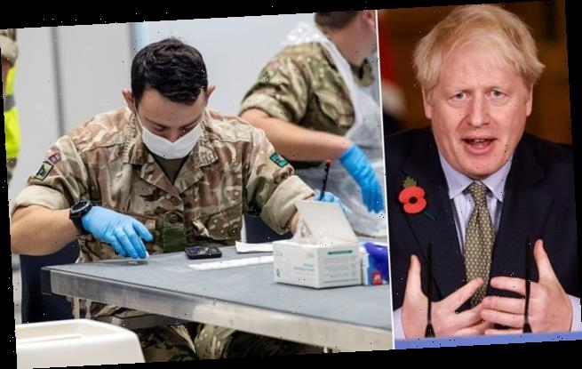 Boris Johnson set to unveil £7billion Covid-19 screening revolution