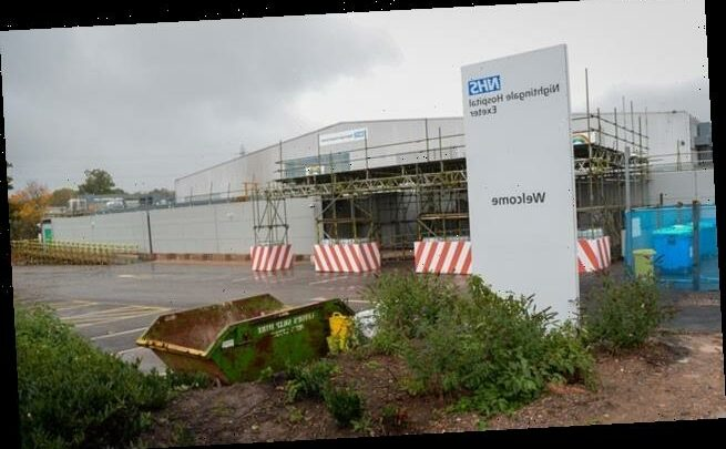 Exeter Nightingale reopens because Devon hospital is 'very busy'