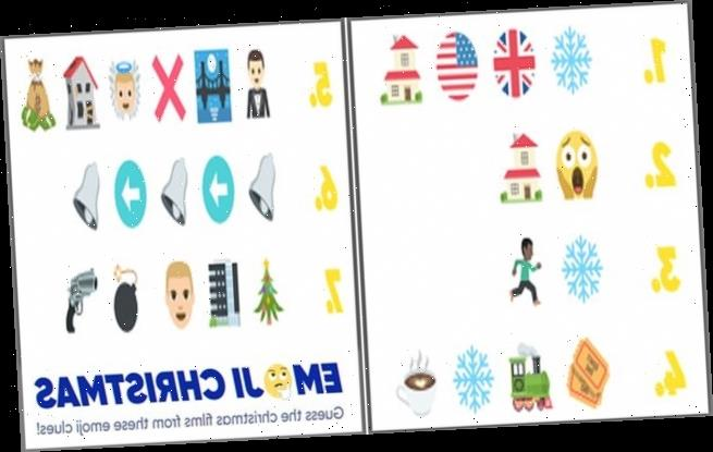 Emoji quiz challenges puzzlers to name the Christmas films