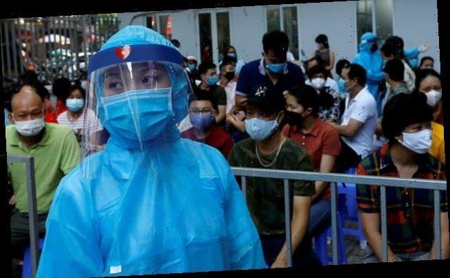 Vietnam records first locally transmitted coronavirus case in 89 DAYS