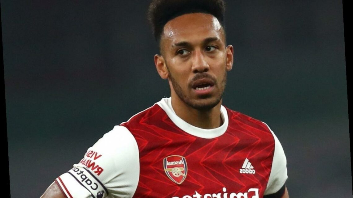 Arteta admits biggest Arsenal worry is Aubameyang's lack of goals after scoring just once in NINE Premier League clashes