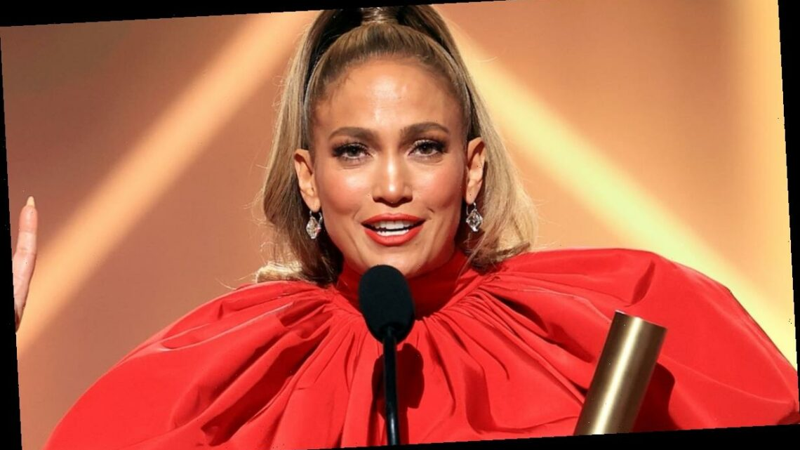 J.Lo Honors 'Girls in All Ages and All Colors' in Powerful People's Choice Awards Speech
