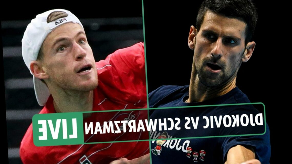 Djokovic vs Schwartzman LIVE: Stream FREE, TV channel, start time for ATP Finals clash – latest updates