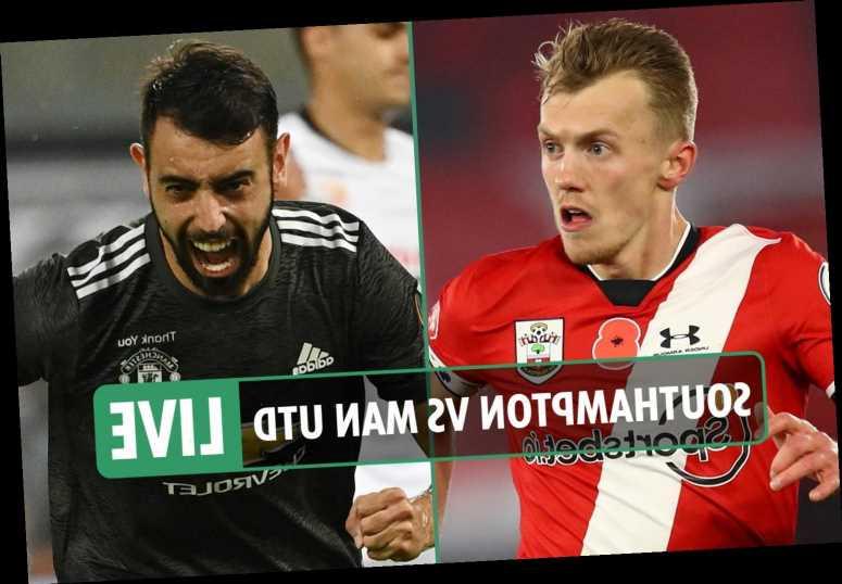 Southampton vs Man Utd LIVE: Stream, TV channel, team news, kick-off time for big Premier League clash – latest updates