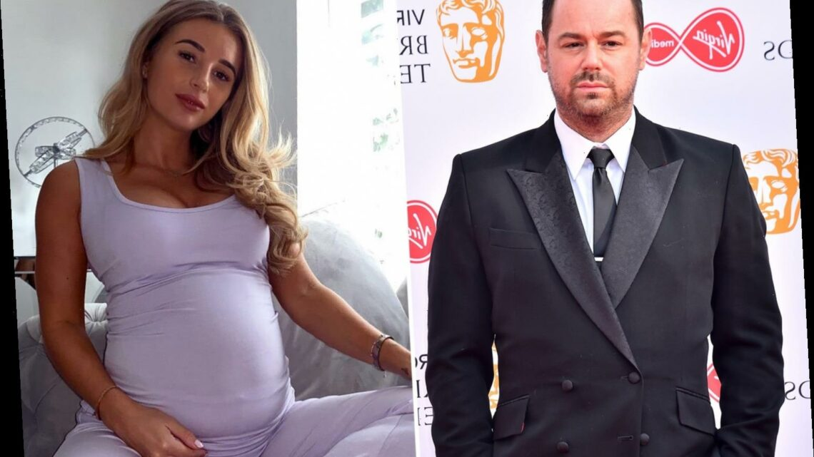 Pregnant Dani Dyer branded a 'terrible mum' by cruel trolls and 'sobbed her heart out'