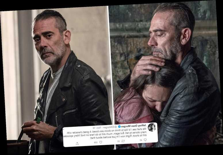 The Walking Dead's Jeffrey Dean Morgan teases Negan spin-off series as he assures fans 'no doors are closed'
