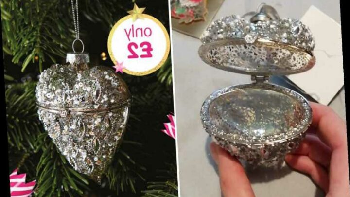 B&M shoppers discover 'hidden feature' in £2 heart-shaped Christmas bauble