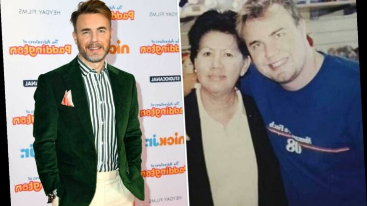 Gary Barlow says he hit 18st after binging on Chinese takeaways as James Corden asks him for weight loss tips