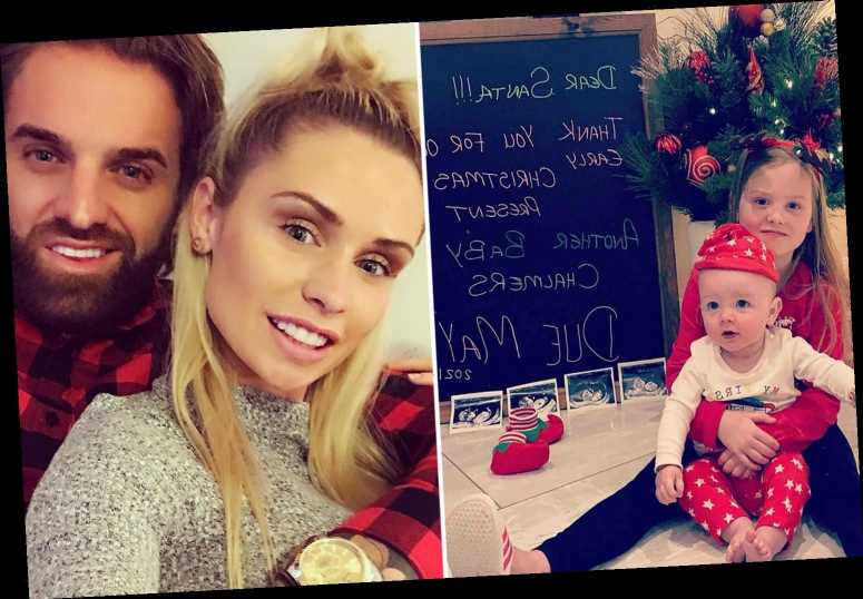 Geordie Shore's Aaron Chalmers announces second child with Talia Oatway after they got back together