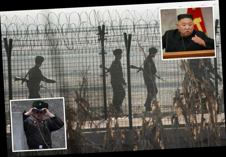 North Korean soldier 'killed in blast' after Kim Jong-un ordered landmines to be planted along border to 'stop Covid'