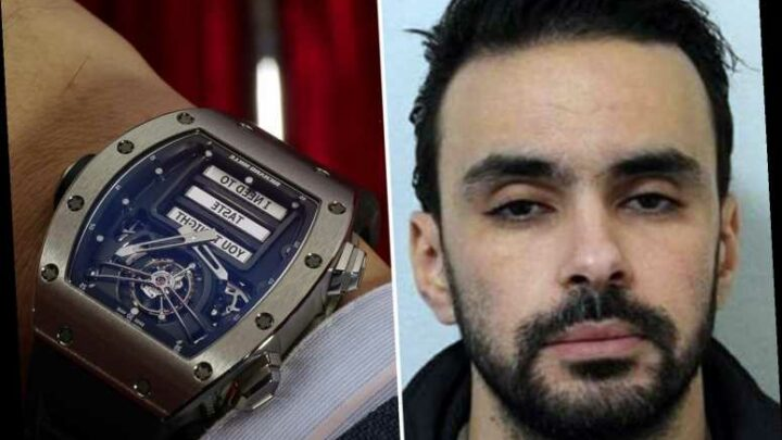 Mugger who snatched £692k erotic watch from owner's wrist jailed for 9yrs