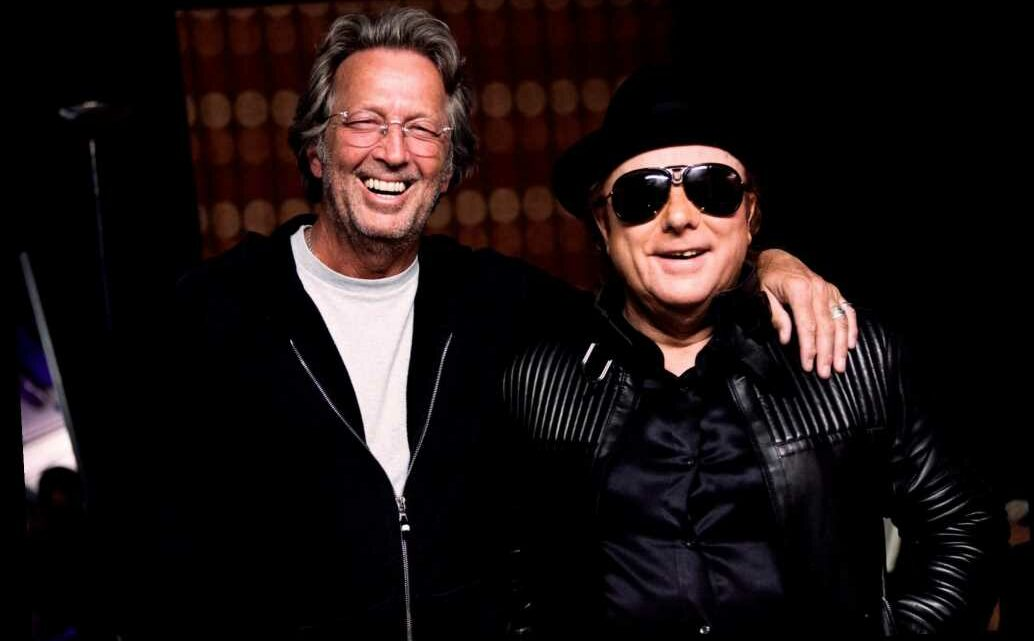 Eric Clapton, Van Morrison join forces to help out-of-work musicians