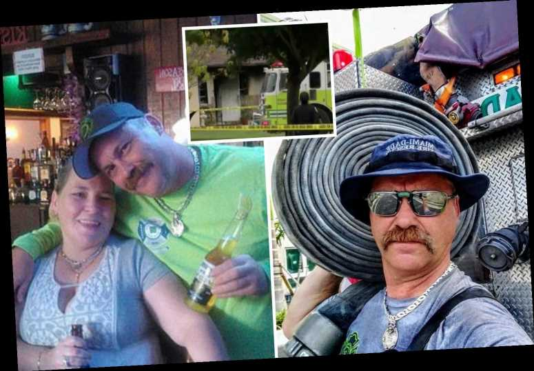 Firefighter responds to blaze at his OWN house to find his wife dead inside
