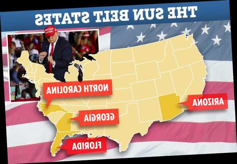 Trump will beat Biden in EVERY Sun Belt state despite ex-VP being ahead in polls, adviser predicts