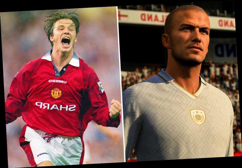 Man Utd legend David Beckham 'earning MORE from icon role in FIFA 21 than he did as a player'