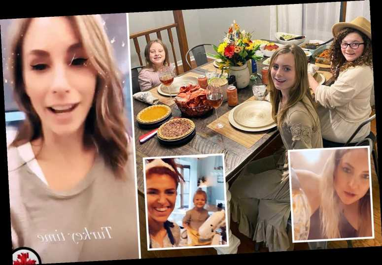 Teen Mom Leah Messer, RHONJ's Joe Giudice, Lyssa Chapman and more share Thanksgiving celebration photos with family