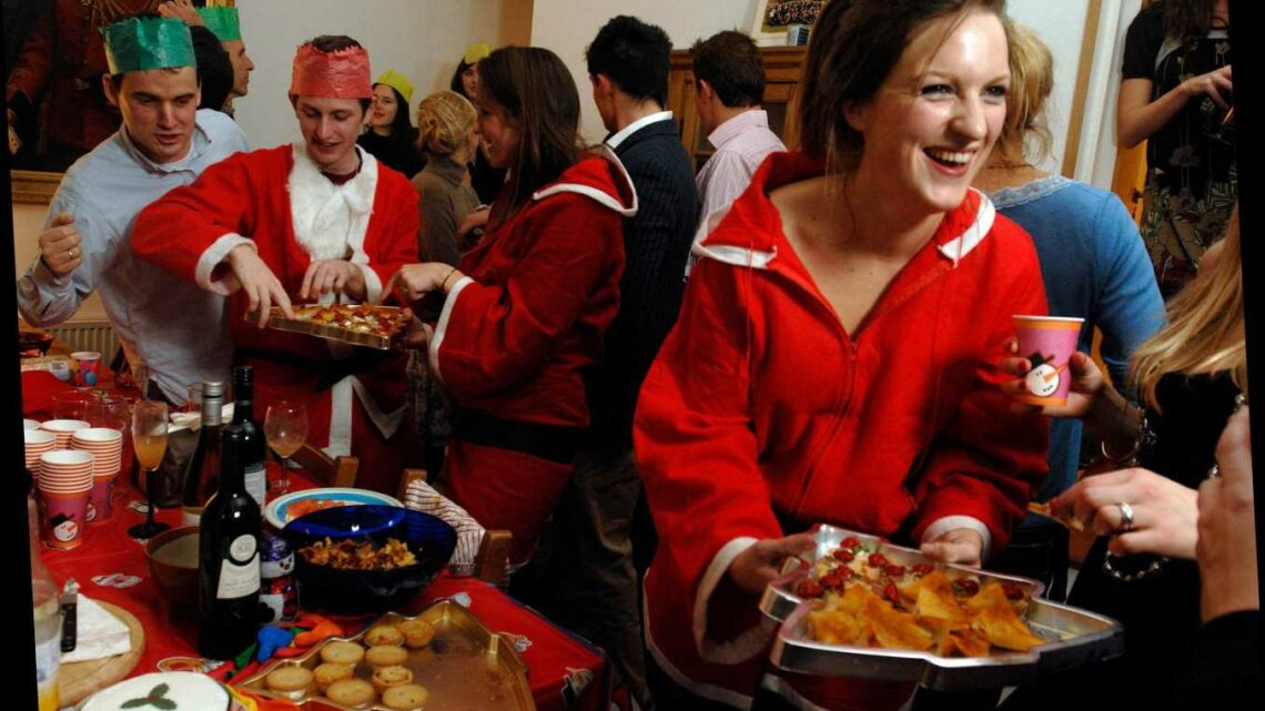 Cops WILL break-up large Christmas parties if revellers outrageously flout the Covid bubble rules