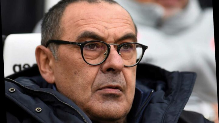 Former Chelsea boss Maurizio Sarri in line for managerial return with Roma and Fiorentina keen after poor starts