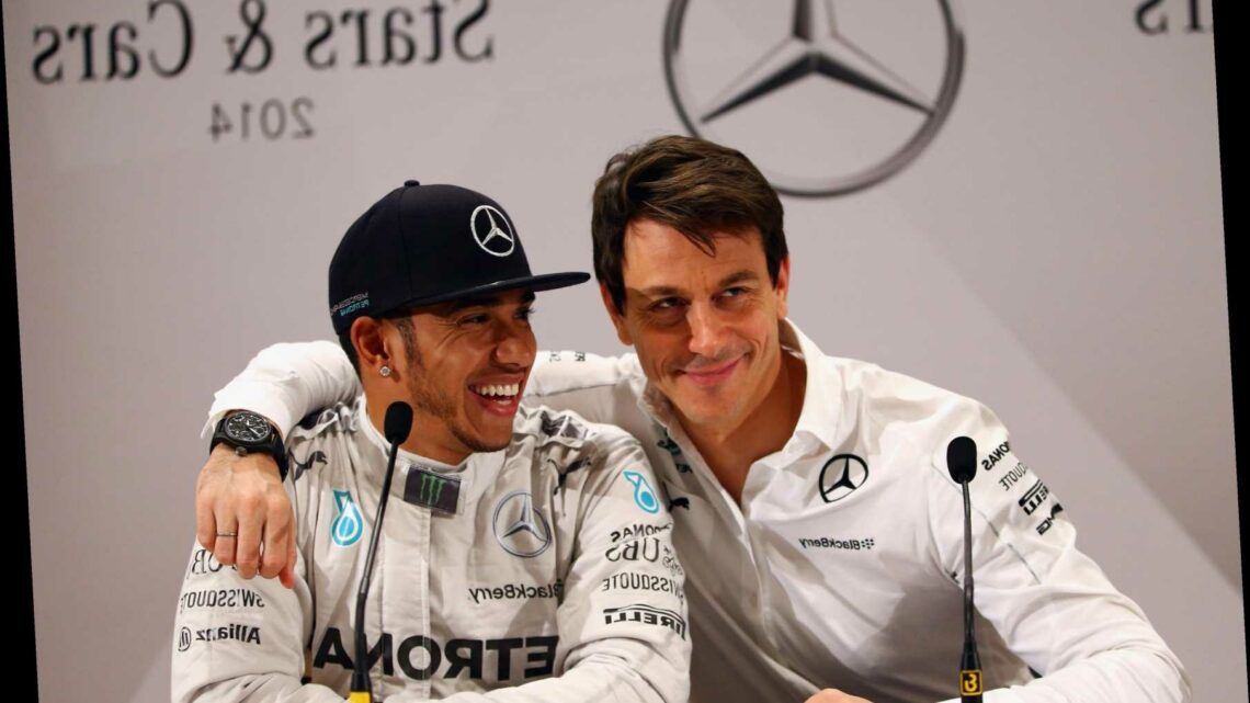 Toto Wolff dismisses Lewis Hamilton's quit threat and is confident world champ WILL sign new Mercedes deal