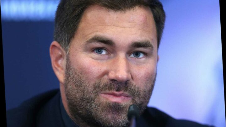 Eddie Hearn rages at Government's 'disgusting' decision to leave boxing out of £300m bail-out for elite sport