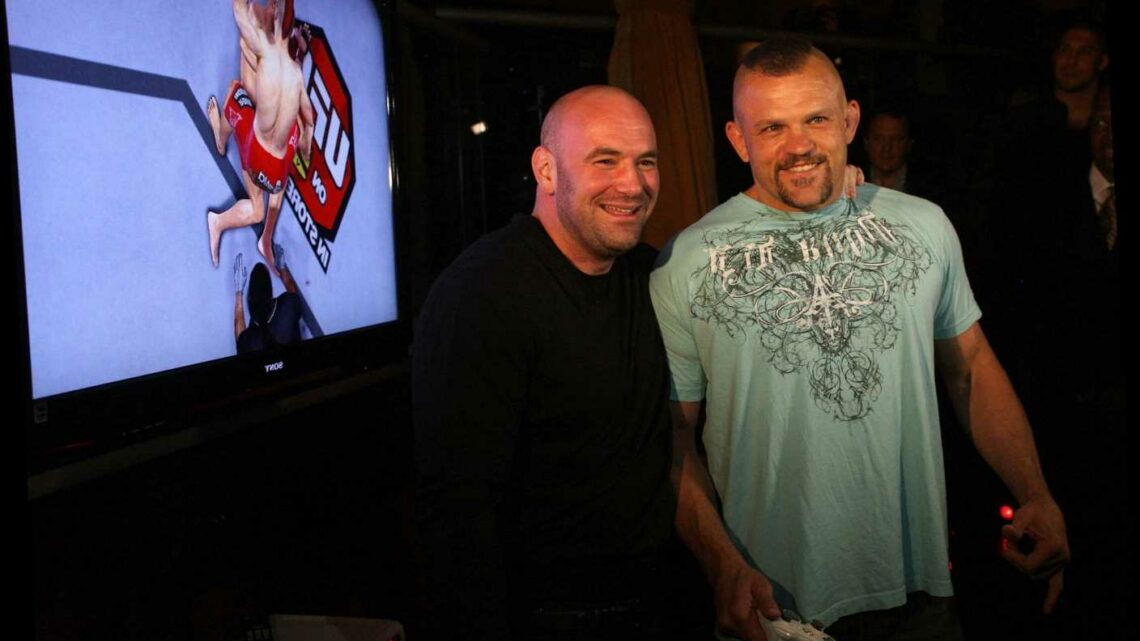 How Dana White won $5,000 bet after UFC legend Chuck Liddell 'beat the crap' out of hotel security guard