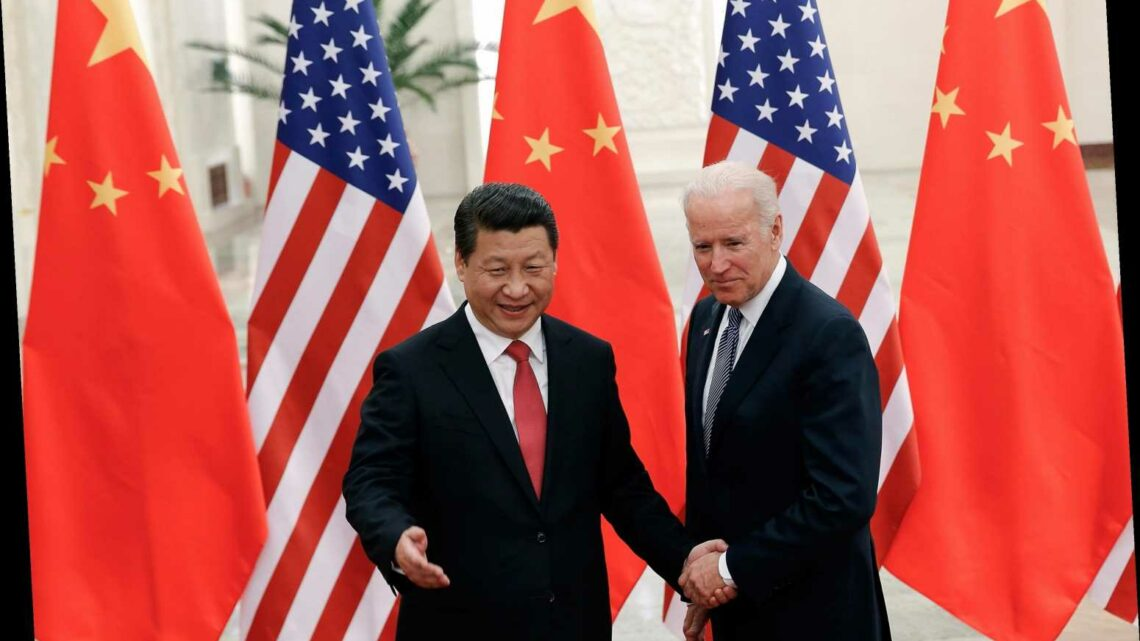 China's president Xi rings Biden to 'congratulate him on 2020 win' after Trump alleged shady 'China & Hunter Biden' deal