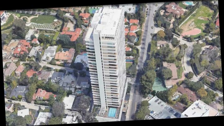 Mystery person 'leaps to death from ultra-luxury LA building where Britney Spears, Elton John & Kelly Osbourne lived'